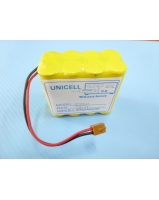 Terumo syringe pump TE-331 TE-332 SS-005024 battery pack - Sanyo 8N-600AAK battery - SKU/CODE: TMP-TE331