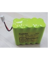 TOP Infusion Pumps TOP-2200 TOP-3300 BP-53 battery - Sanyo Cadnica 10N700AAC battery - SKU/CODE: TMP-S1010
