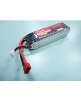 11.1V 3000mAh 60C Li-polymer battery with connector