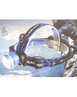 Focusable T6 LED head lamp